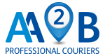 AA2B Couriers – Nationwide Delivery Service – Bolton Lancashire Logo